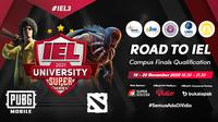 IEL University Super Series Season 3 dapat disaksikan melalui platform Vidio dan Bola.com. (Sumber: Vidio)