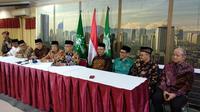 PBNU dan Muhammadiyah Bertemu, Hasilkan 4 Keputusan Bersama (Liputan6.com/Putu Merta SP.)