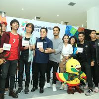 Peluncuran album Asian Games 2018 (Foto: Adrian Putra/Bintang.com)