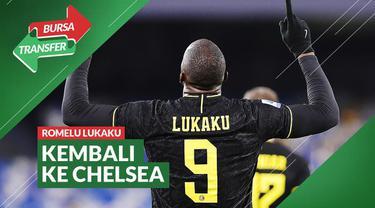 Berita video Bursa Transfer kali ini membahas soal Romelu Lukaku yang resmi kembali ke Chelsea, sementara Inter Milan akan mendatangkan Edin Dzeko dan Denzel Dumfries.