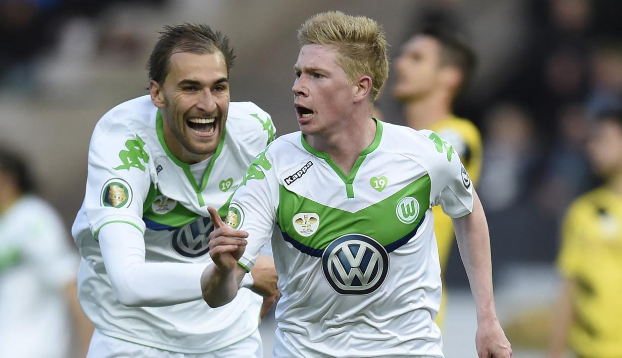 Meski belum setara dengan Bayern Munchen sebagai tim elite di Liga Jerman, namun Wolfsburg tetap berpengaruh dalam hal mencetak bintang yang bernilai tinggi untuk klub-klub elite Eropa. Mereka pernah mencetak pemain-pemain dengan harga tinggi saat harus dijual. (AFP/Odd Andersen)