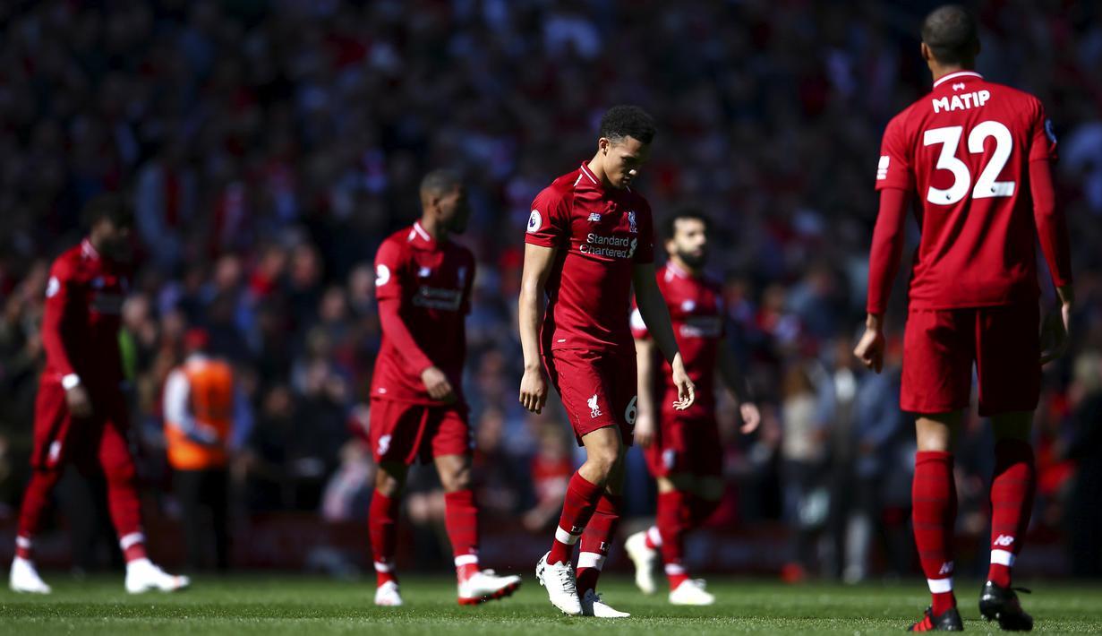 Pemuncak klasemen sementara Liga Inggris Liverpool terancam gagal menjadi jawara di Premier League musim 2019-2020.