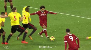 Mohamed Salah menjadi bintang kemenangan Liverpool dengan menorehkan quat-trick saat mencukur Watford dengan skor 5-0. Pemain asal...