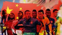 8 Pesepak Bola yang Bermain di China (Bola.com/Samsul Hadi)