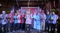 Kemeriahan saat grand launching Tour de Singkarak (Antara Foto/Ismar Patrizki)