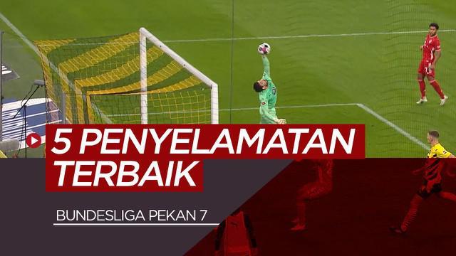 Berita video 5 penyelamatan terbaik Bundesliga pekan ke-7. Salah satunya dari Roman Burki saat melawan Bayern Munchen