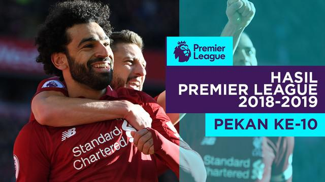 Berita video hasil Premier League 2018-2019 pekan ke-10. Liverpool kalahkan Cardiff City 4-1, Sabtu (27/10/2018) di Anfield, Liverpool.