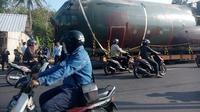 Pesawat Hercules C-130 tipe B era Bung Karno ini akan menambah koleksi Museum Pusat Dirgantara Mandala Yogyakarta. (Liputan6.com/Yanuar H)