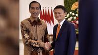 Presiden Jokowi dan CEO Alibaba Group Jack Ma di Istana Kepresidenan Bogor, Sabtu (1/9/2018). (Doc: Sekretariat Kabinet Republik Indonesia)