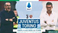 Serie A - Juventus Vs Torino - Head to Head Pelatih (Bola.com/Adreanus Titus)