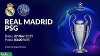 Liga Champions - Real Madrid Vs PSG (Bola.com/Adreanus Titus)
