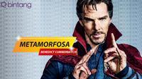 Metamorfosa Benedict Cumberbatch. (DI: Nurman Abdul Hakim/Bintang.com)