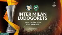 Liga Europa - Inter Milan Vs Ludogorets (Bola.com/Adreanus Titus)