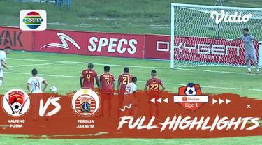 Berita video highlights Shopee Liga 1 2019 antara Kalteng Putra melawan Persija Jakarta yang berakhir dengan skor 1-3, Sabtu (21/12/2019).