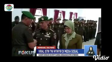 Tiga istri TNI menulis pernyataan negatif di media sosial. Jabatan suami menjadi taruhannya. Gara-gara kicauan nyinyir istri TNI, tiga tentara dicopot dari jabatannya.