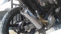Knalpot bobokan dipilih sejumlah kalangan karena dipercaya mampu mendongkrak tenaga motor. (ist)