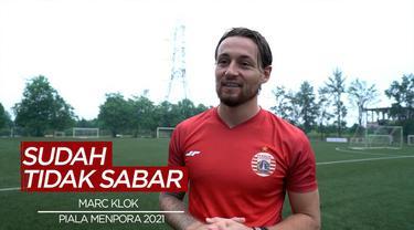 Berita Video Marc Klok Sudah Tidak Sabar Main di Piala Menpora 2021 Bersama Persija