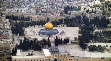Masjid Al Aqsa Dan Situs Suci Tiga Agama Lifestyle Fimela Com