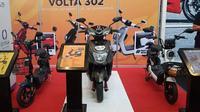 Motor listrik dari Semarang tampil di IIMS Motobike Hybrid Show 2020. (Oto.com)