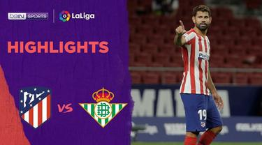 Berita Video Highlights La Liga, Gol Tunggal Diego Costa Menangkan Atletico Madrid Atas Real Betis