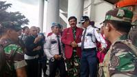 Panglima TNI Hadi Tjahjanto di Malang, Jawa Timur (Liputan6.com/ Zainul Arifin)