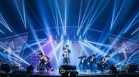 Konser GOT7 Eyes On You in Jakarta, Sabtu (30/6/2018). (Mecimapro)