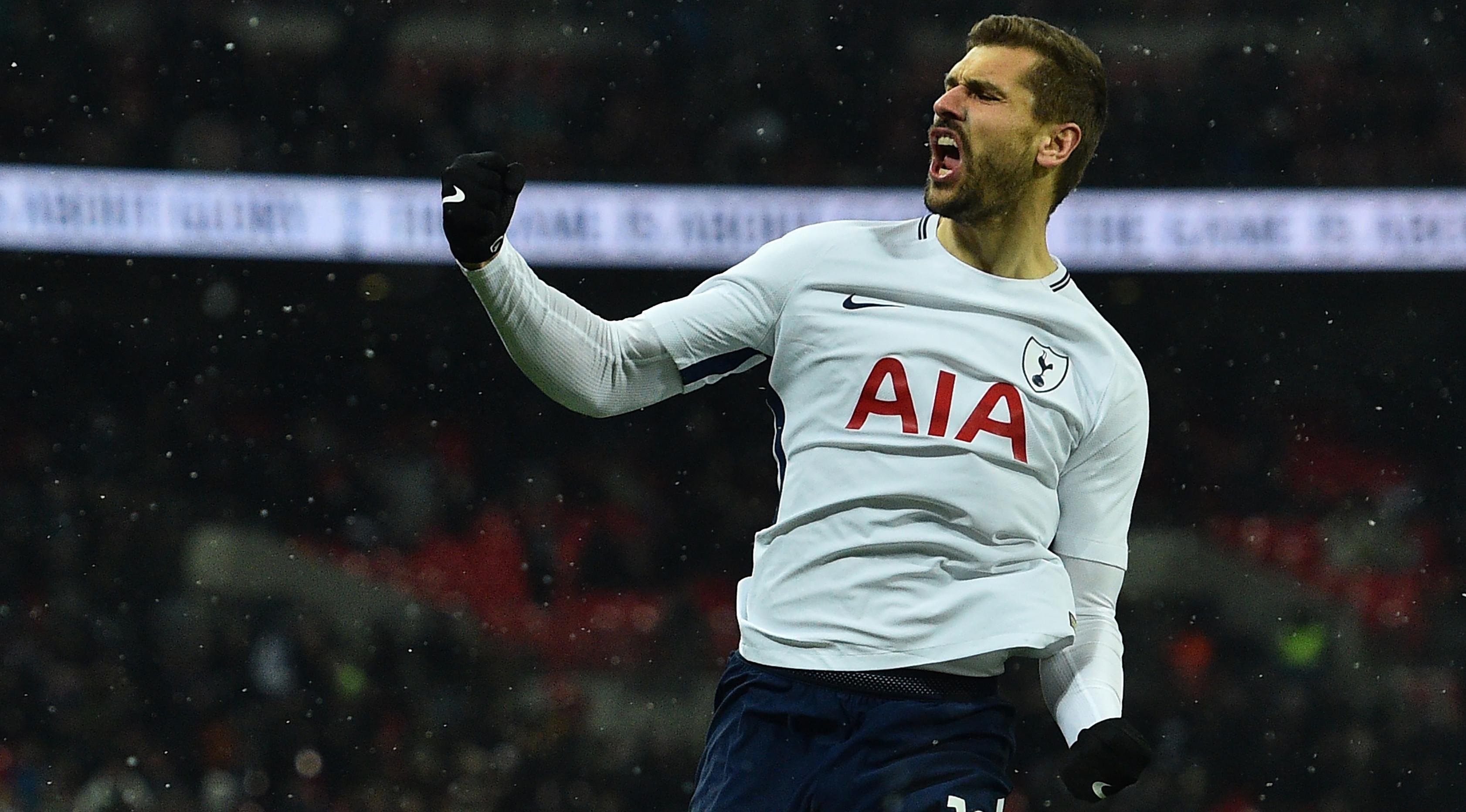 Striker Tottenham Hotspur Fernando Llorente (Glyn KIRK/AFP)