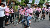 Bersepeda pagi dan santai di Yogyakarta bisa menjadi lebih menarik dengan aplikasi InaBike (Liputan6.com/ Switzy Sabandar)