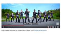 Santri Cover Lagu Ziggy Zagga (Youtube: gontortv Magelang)