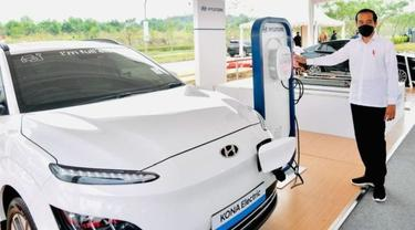 Indonesia Bisa Jadi Produsen Utama Baterai Kendaraan Listrik (Instagram @jokowi)