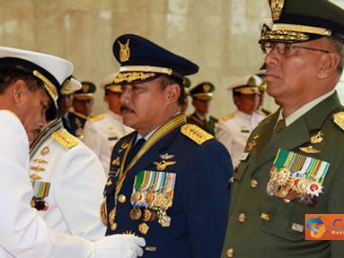 Citizen6, Jakarta: Penganugerahan tersebut diberikan berdasarkan Keputusan Presiden Republik Indonesia Nomor 47/TK/Tahun 2011tanggal 21 Juni 2011 untuk Kepala Staf Angkatan. (Pengirim: Badarudin Bakri)