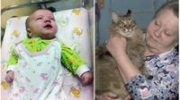 Seekor kucing di Rusia menunjukkan bahwa jenisnya dapat melakukan hal sebaik para anjing yang biasanya dianggap sebagai penyelamat.