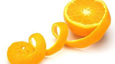 Kulit jeruk, stres