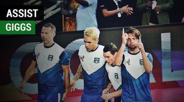 Berita video gol pemain Wales keturunan Indonesia, Rico Zulkarnain, berkat assist dari legenda Manchester United, Ryan Giggs, pada Indian Premier Futsal 2017.