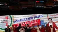 Komunitas olahraga bersatu yang diantaranya terdiri dari legenda olahraga Indonesia siap mendukung Jokowi-Ma'ruf Amin (istimewa)