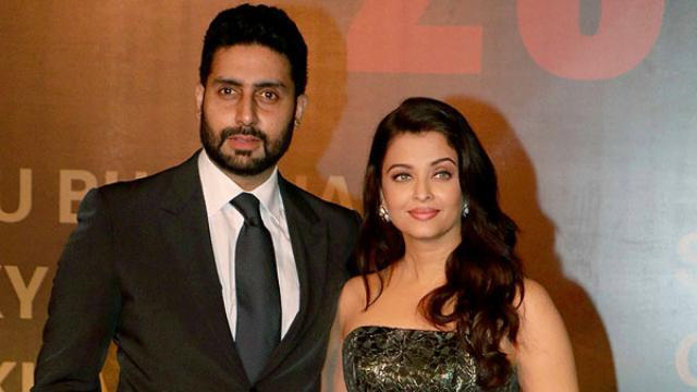 Abhishek Bachchan mit gnädiger, Ehefrau