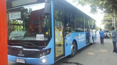 Bus Transjakarta Difabel