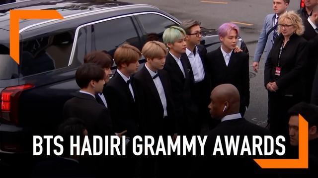 BTS berhasil masuk nominasi Best Recording Package, Grammy Awards 2019. Ini merupakan nominasi pertama bagi musisi Korea Selatan.