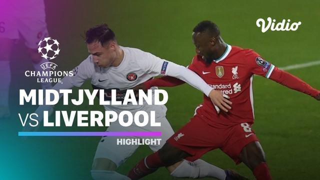 Berita video highlights matchday 6 Grup D Liga Champions 2020/2021 antara Liverpool melawan Midtjylland yang berakhir dengan skor 1-1, di mana Mohamed Salah menciptakan gol cepat, Kamis (10/12/2020) dinihari WIB.