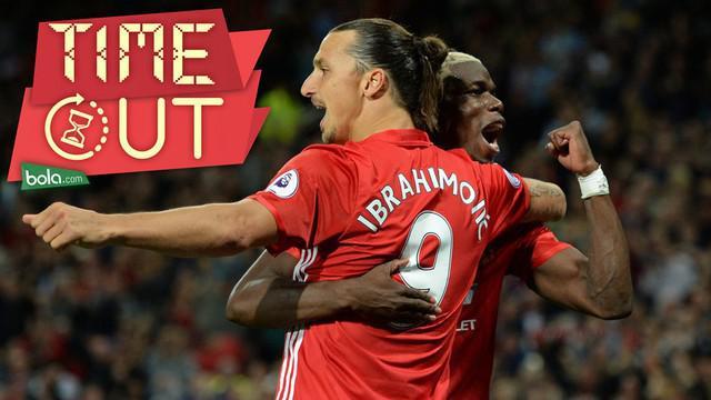 Duet Zlatan Ibrehimovic dan Paul Pogba di Manchester United mampu memberikan warna terhadap permainan The Red Devils.