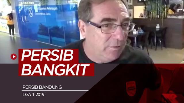 Berita video Persib Bandung akan segera bangkit setelah kekalahan telak dari Persebaya Surabaya di Shopee Liga 1 2019. Tim Maung Bandung harus segera bangkit karena selanjutnya akan menghadapi Persija Jakarta.