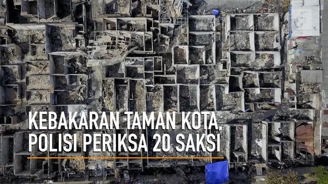 Polres Jakarta Barat segera mengungkap penyebab kebakaran yang terjadi di perumahan Tman Kota. Polisi telah memeriksa 20 orang saksi