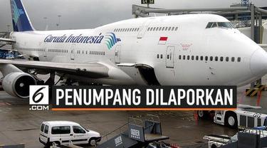 Sejumlah karyawan Garuda Indonesia melaporkan unggahan Rius Vernandes tentang kertas menu di kelas bisnis penerbangannya.