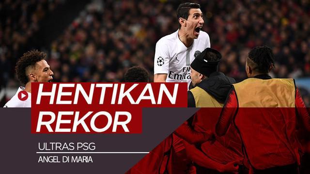 Berita video PSG meraih kemenangan atas Manchester United 2-0 sekaligus menghentikan rekor tak terkalahkan Ole Gunnar Solskjaer juga berkat dukungan suporter dan performa apik Angel Di Maria.