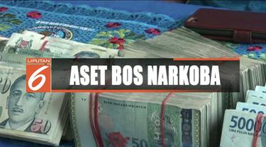 BNN mengungkapkan aset bos narkoba berupa rumah, mobil, dan emas senilai Rp 28 miliar.