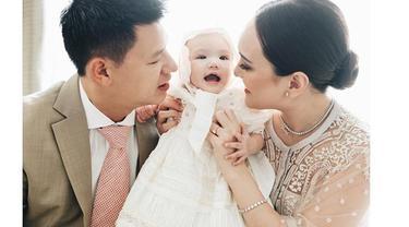 7 Gaya Pemotretan Baby Claire Anak Shandy Aulia Sebelum Dibaptis, Menggemaskan