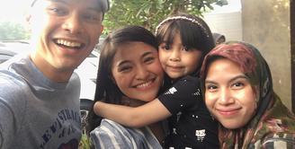 Sekitar tujuh hari silam, aktri multitalenta Marshanda mengungkapkan curahan hatinya sebagai ibu yang tak bisa selalu bersama dengan putri dari pernikahannya dengan Ben Kasyafani. (Instagram/benkasyafani)