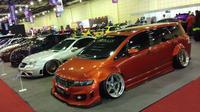 50 mobil modifikasi terbaik di Indonesia dipamerkan di IMX 2018. (Septian/Liputan6.com)