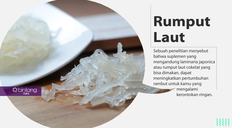 Makanan ini bisa bantu kamu atasi kerontokan. (Foto: Adrian Putra, Digital Imaging: Nurman Abdul Hakim/Bintang.com)