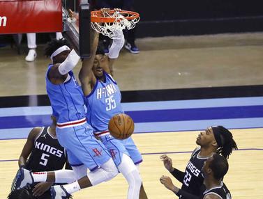 FOTO: Bungkam Sacramento Kings, Houston Rockets Raih Kemenangan Perdana di NBA Musim Ini